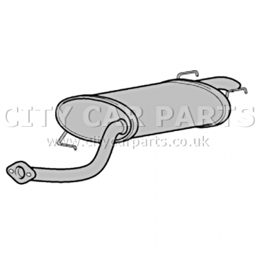 LEXUS RX300 3.0 MODELS 2000 TO 03 EXHAUST REAR SILENCER BACK BOX QUALITY BRAND NEW UNIT